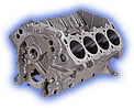 Hemi Engine Block