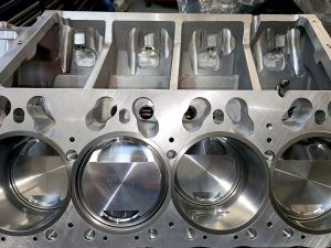 FHO Hemi Engine Block Machining