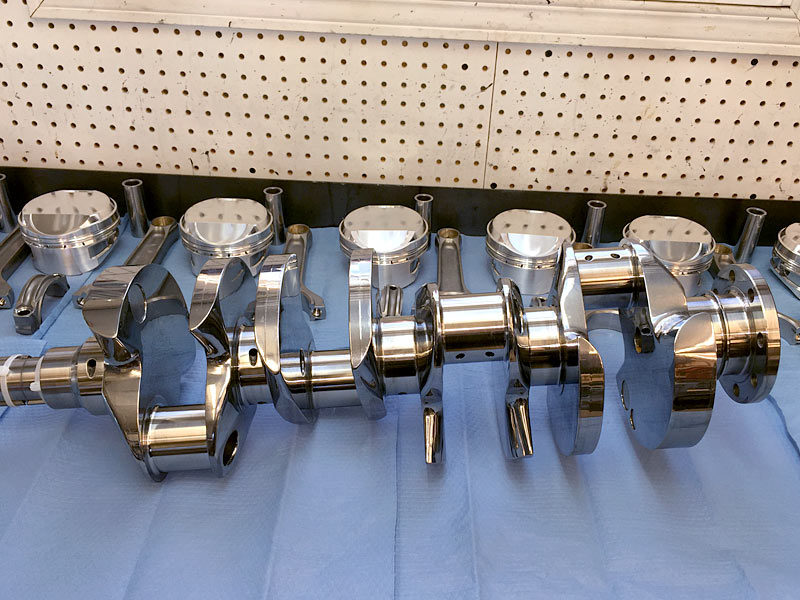 Callies custom billet stroker hemi race crankshafts