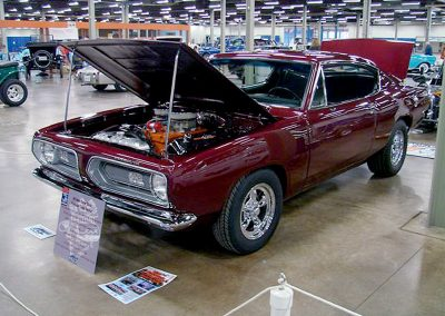68 Barracuda Superstock Hemi Clone