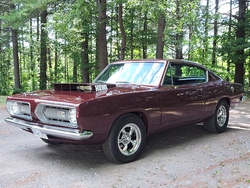 1968 Barracuda | For Hemis Only